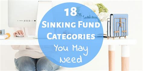 Sinking Fund by 18 Sinking Fund Categories You Might Need In Your Budget