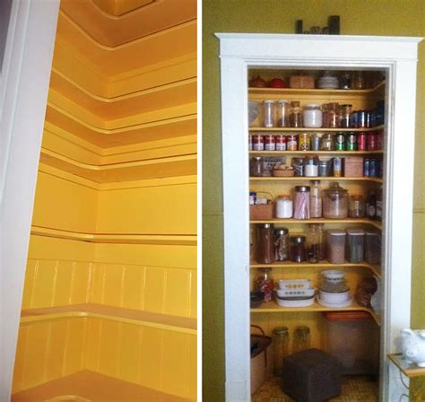 creating a pantry out of a small closet