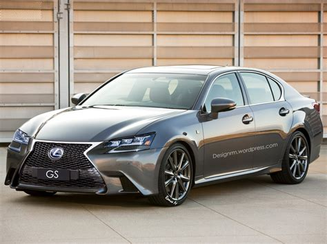 lexus new 2016 2016 lexus gs facelift rendered with new led headlights