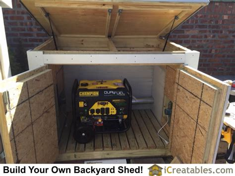 generator shed plans built  forest hills ny
