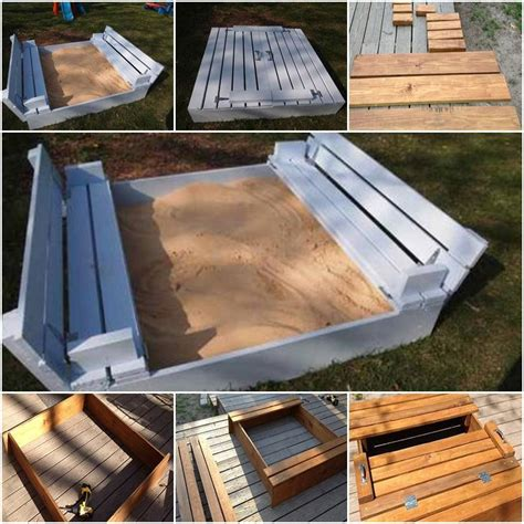 diy sandbox  kids