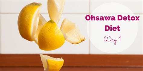 The 10 Ohsawa Detox Diets And What They Cure by Ohsawa Detox Diet Day 1