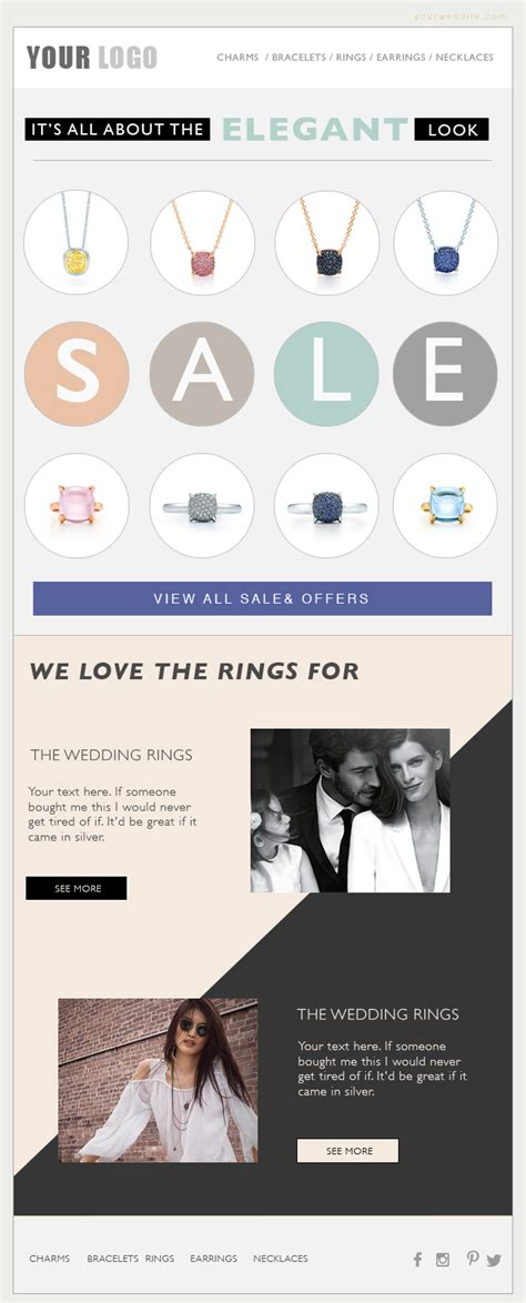 eblast template email marketing eblast template email template fashion