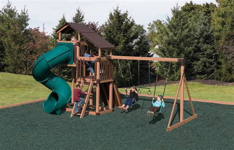 home swing set discovery depot swing set package with 2 levels d48 8