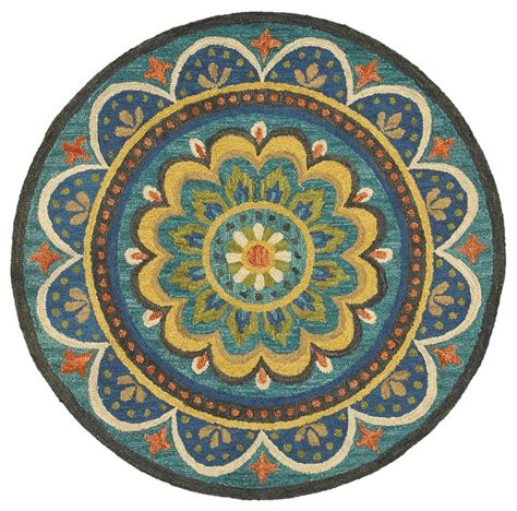 dazzle rug dazzle rug blue 4 area rugs by l r resources inc