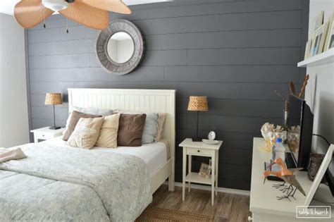 Hgtv Bedrooms Decorating Ideas by Easy Diy Shiplap Wall Table And Hearth