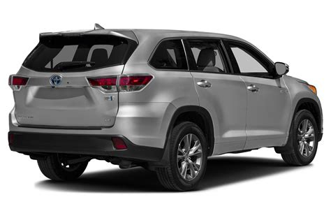 Toyota Vehicles 2016 2016 Toyota Highlander Hybrid Price Photos Reviews