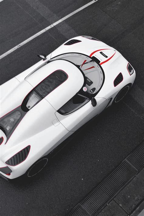 100 Koenigsegg White Carbon Fiber Koenigsegg Agera