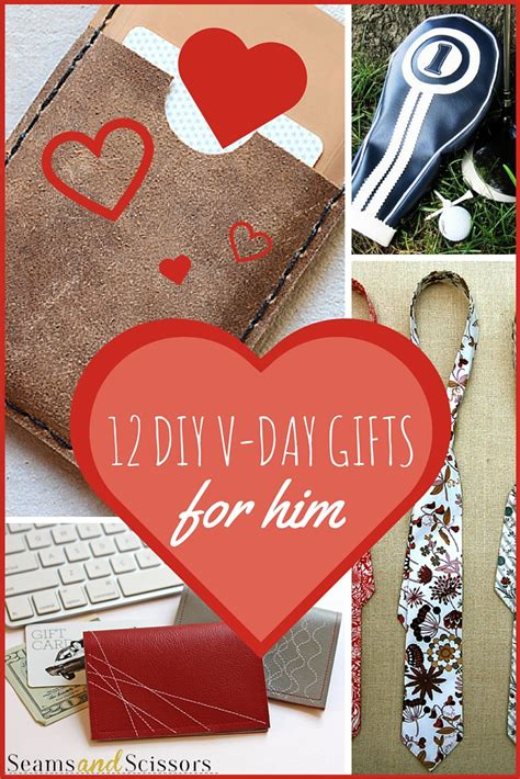 diy day gifts for him 12 diy s gifts for him seams and scissors