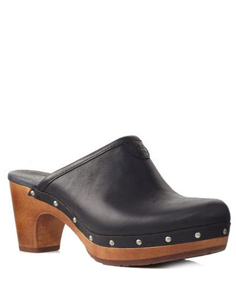 womens clogs for sale ugg s abbie leather clogs designer footwear sale