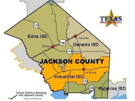 service county texas map texas department of state health services region 8 jackson county map