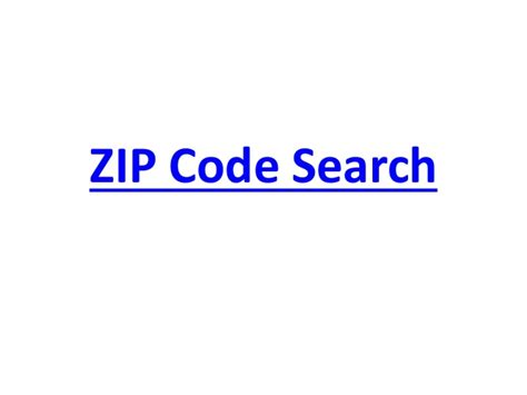 Lookup Address By Postal Code Zip Code Search Zip Code Lookup Zip Code Finder In Us D
