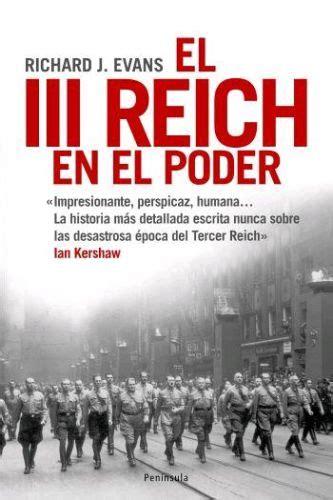 libro la llegada del tercer historia del nazismo de richard j evans la segunda guerra