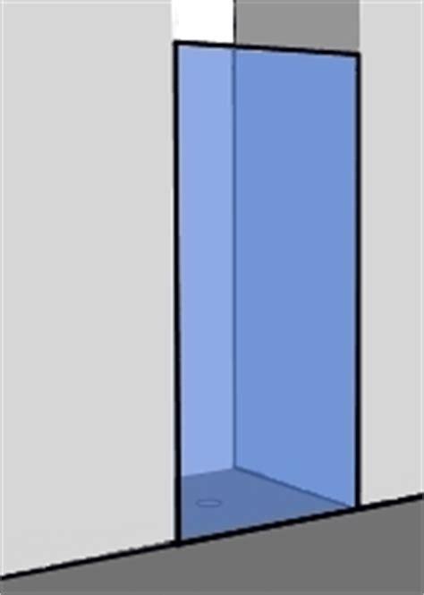 drehtür duschkabine glas konfigurator dusche exakt passend in 24h