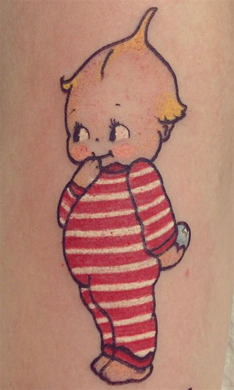 kewpie doll tattoo winzer baby kewpie hirschfeld rockwell and the