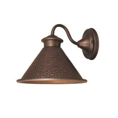 Copper Outdoor Lights Copper Outdoor Wall Mounted Lighting Outdoor Lighting The Home Depot