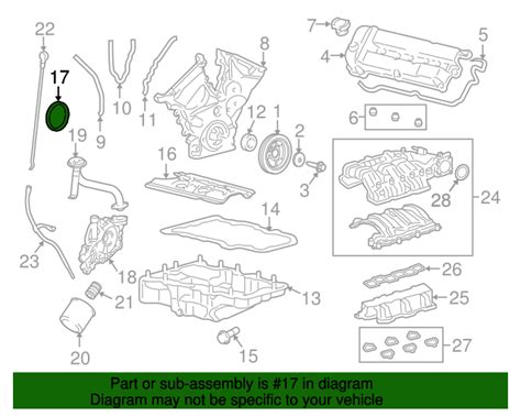 Ford Genuine Parts Seal Crankshaft Belakang Ford Escape 30 Aj0311312 f4az 6701 a rear seal for 2012 ford escape ford parts