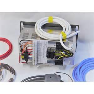 pms3 cervan motorhome wiring kit with voltage sensing split charge