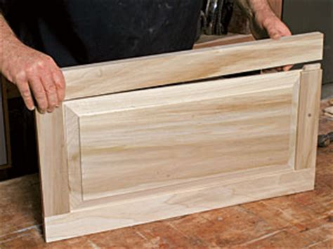 how to make a desk from kitchen cabinets making raised panel doors on a tablesaw a veteran