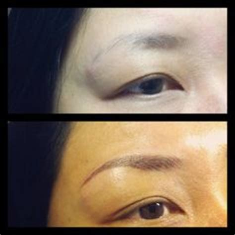 tattoo eyebrows san jose ca laser eyebrow tattoo removal before and after tattoos