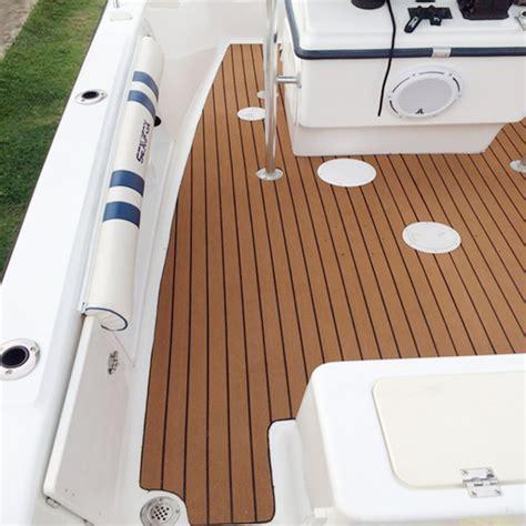 boat floor installation 1250x17x0 5cm long brown eva foam boat flooring faux teak