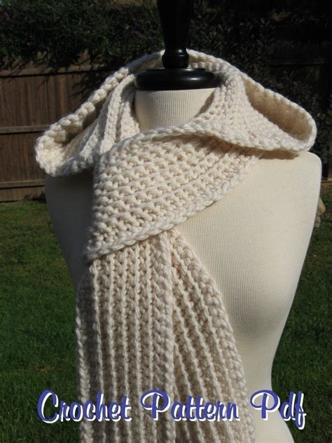 hooded scarf new 782 nordic hooded scarf crochet pattern free