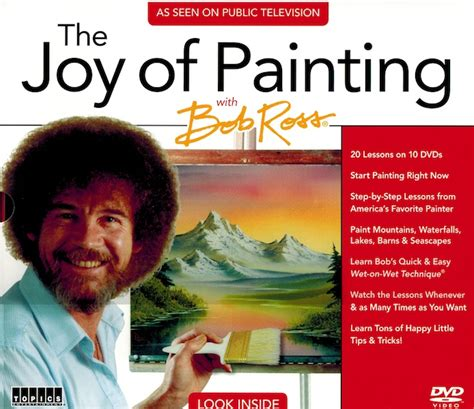 bob ross painting tv schedule new pbs the of painting with bob ross 10 dvd set as