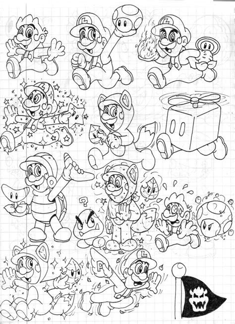 mario 3d world coloring page 11 pics of mario 3d land coloring pages super mario 3d