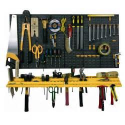 tool storage shelves garage tool rack wall workshop storage kit plastic