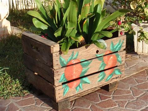 Skid Planters by Garden Set Made From Pallets Wooden Pallet Furniture