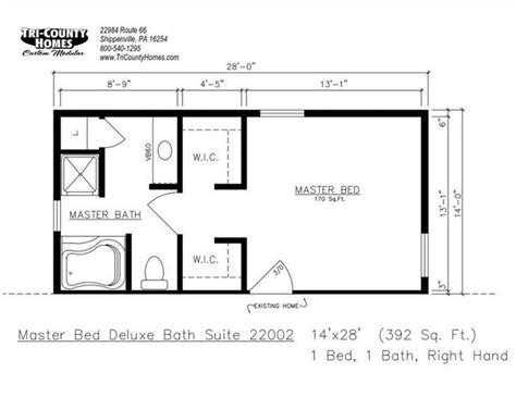 Master Suite Floor Plans by Master Bedroom Blueprints Addition Psoriasisguru