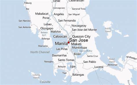 san jose philippines map san jose philippines national capital region pasay city