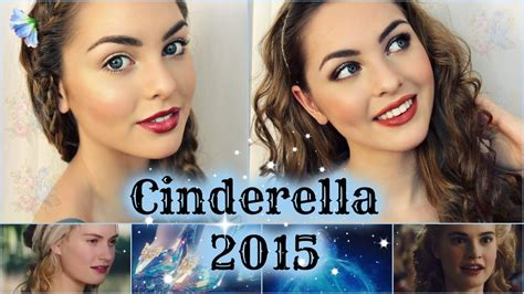 2015 cinderella hair tutorial lily james as cinderella makeup tutorial natural glam