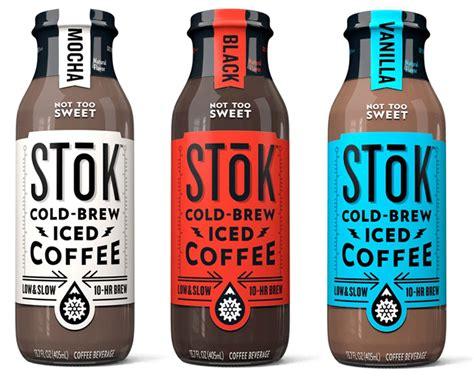 Ready Stok stok cold brew iced coffee eric erickson graphic design