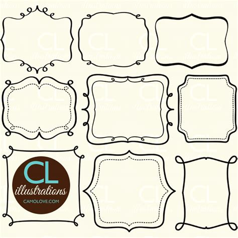 Andcute Clip Illustrations Graphics Printables And