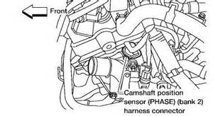 2002 Nissan Maxima Camshaft Position Sensor Solution For Quot How To Replace A Camshaft Quot Fixya