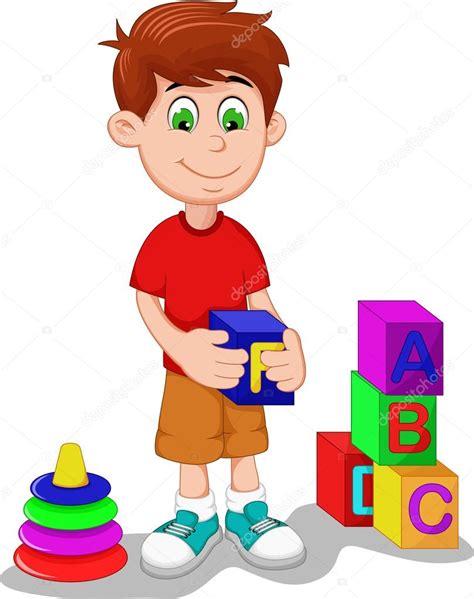 dibujos de niños jugando wii dibujos animados de lindo ni 241 o jugando lego foto de