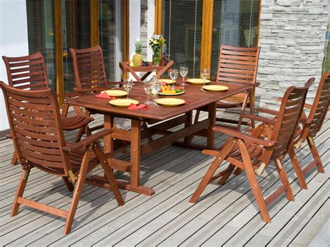 Outside Deck Furniture Tips For Refinishing Wooden Outdoor Furniture Diy