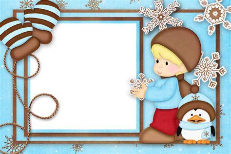 imagenes infantiles vectorizadas gratis marcos de navidad infantiles plantillas recursos y m 225 s