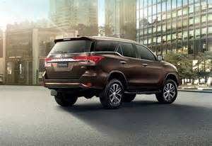 2016 Toyota Fortuner Upcoming New Toyota Fortuner 2016 Car N Bike Expert