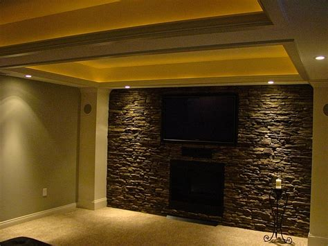 faux walls basement i finished faux stone wall pinteres