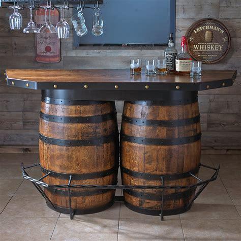 tennessee whiskey barrel bar barrels bar and cave