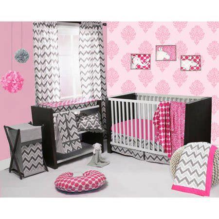 Walmart Crib Bedding by Bacati Ikat 4 Crib Bedding Set Pink Grey Walmart