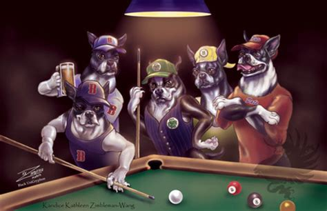 big dogs billiards dogs pool 3d and cg abstract background wallpapers on desktop nexus image