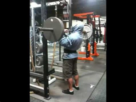 jim wendler bench press jim wendler military press 225x11 youtube