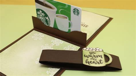 gift card holders to make pop up gift card holders