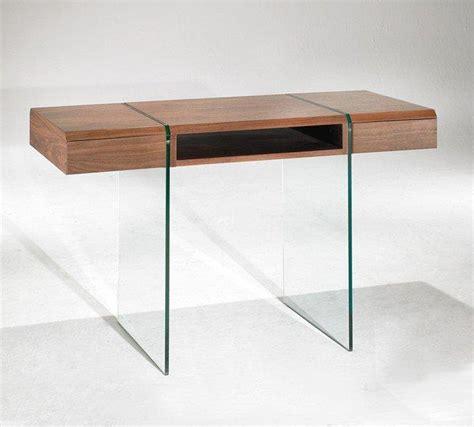 bureau bois verre enterprise bureau design bois et verre avec tiroirs