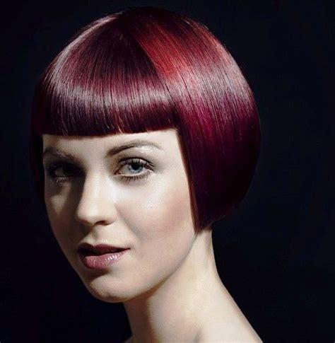 burgundy short messy bob 35 mesmerizing short red hairstyles for true redheads