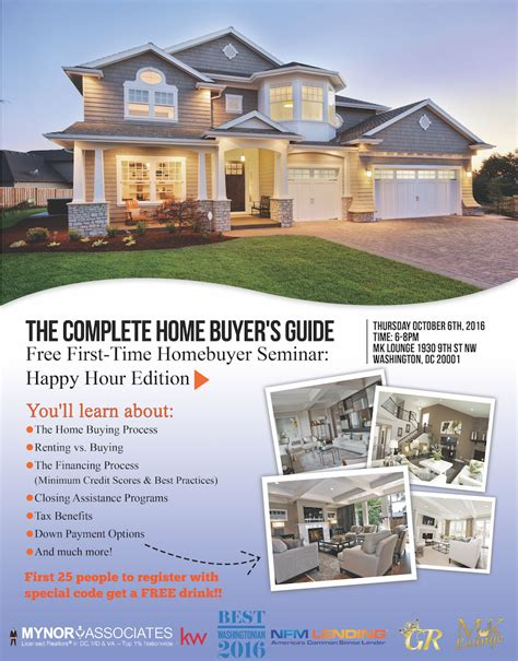 washington state time home buyer dc time home buyers