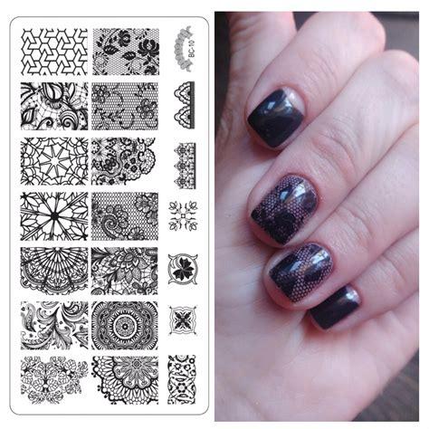 lace pattern nail art latest nail template lace pattern nail art plate stainless